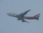 T_pontaさんが、新千歳空港で撮影したアシアナ航空 747-48Eの航空フォト(写真)