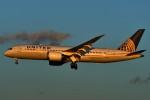 harahara555さんが、成田国際空港で撮影したユナイテッド航空 787-8 Dreamlinerの航空フォト(写真)