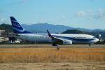 FRTさんが、松山空港で撮影したニュージェン・エアウェイズ 737-8Q8の航空フォト(飛行機 写真・画像)