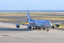 kuro2059さんが、中部国際空港で撮影したナショナル・エアラインズ 747-428(BCF)の航空フォト(飛行機 写真・画像)