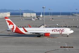 kuro2059さんが、中部国際空港で撮影したエア・カナダ・ルージュ 767-36N/ERの航空フォト(飛行機 写真・画像)