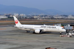 T.Sazenさんが、伊丹空港で撮影した日本航空 787-9の航空フォト(飛行機 写真・画像)