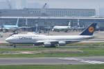 kuro2059さんが、羽田空港で撮影したルフトハンザドイツ航空 747-830の航空フォト(写真)