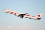 mitsuru1さんが、羽田空港で撮影した航空自衛隊 777-3SB/ERの航空フォト(写真)