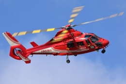 箕面市立萱野東小学校で撮影された大阪市消防航空隊 - Osaka City Fire Department Air Corpsの航空機写真