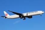 まえちんさんが、成田国際空港で撮影した日本航空 777-346/ERの航空フォト(写真)
