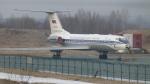 mealislandさんが、ウラジオストク空港で撮影したロシア海軍 Tu-134Shの航空フォト(写真)