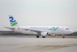 Jyunpei Ohyamaさんが、広島空港で撮影したスカイウィングス・アジア・エアラインズ A320-212の航空フォト(飛行機 写真・画像)