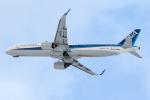 KAMIYA JASDFさんが、函館空港で撮影した全日空 A321-272Nの航空フォト(写真)