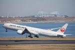 JAXXさんが、羽田空港で撮影した日本航空 777-346/ERの航空フォト(写真)