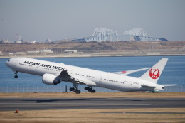 JAXXさんが、羽田空港で撮影した日本航空 777-346/ERの航空フォト(飛行機 写真・画像)