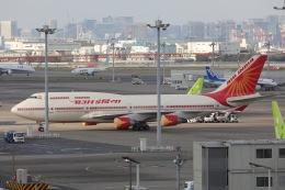 OS52さんが、羽田空港で撮影したエア・インディア 747-437の航空フォト(飛行機 写真・画像)