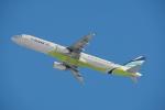 Masa418さんが、新千歳空港で撮影したエアプサン A321-231の航空フォト(写真)