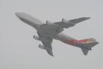 Masa418さんが、新千歳空港で撮影したアシアナ航空 747-48Eの航空フォト(写真)