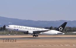 sanadaさんが、鹿児島空港で撮影した全日空 767-381/ERの航空フォト(飛行機 写真・画像)