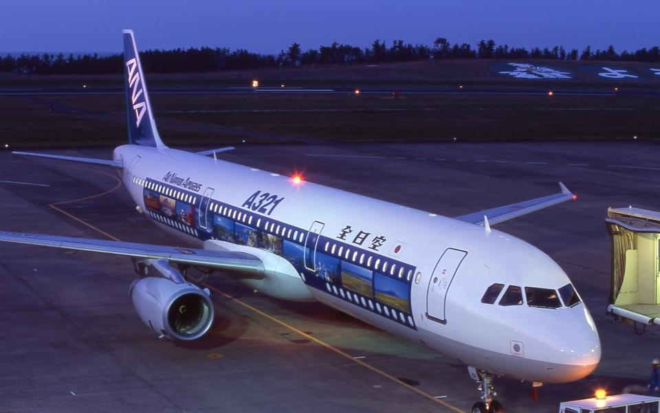 LEVEL789さんの全日空 Airbus A321 (JA101A) 航空フォト
