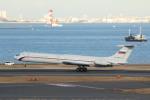 むこいちさんが、羽田空港で撮影したロシア空軍 Il-62Mの航空フォト(写真)