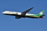 Izumixさんが、成田国際空港で撮影したエバー航空 787-9の航空フォト(写真)