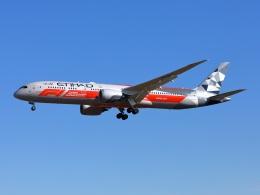 garrettさんが、成田国際空港で撮影したエティハド航空 787-9の航空フォト(飛行機 写真・画像)