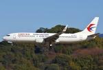 あしゅーさんが、福岡空港で撮影した中国東方航空 737-89Pの航空フォト(飛行機 写真・画像)