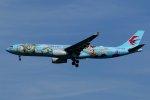 isiさんが、羽田空港で撮影した中国東方航空 A330-343Xの航空フォト(写真)