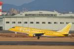 東亜国内航空さんが、名古屋飛行場で撮影したフジドリームエアラインズ ERJ-170-200 (ERJ-175STD)の航空フォト(写真)