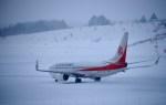 よんすけさんが、青森空港で撮影した奥凱航空 737-8KFの航空フォト(写真)