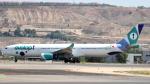 誘喜さんが、マドリード・バラハス国際空港で撮影したエヴェロップ・エアラインズ A330-343Xの航空フォト(写真)