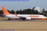 Chofu Spotter Ariaさんが、成田国際空港で撮影したチェジュ航空 737-8FHの航空フォト(飛行機 写真・画像)