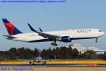 Chofu Spotter Ariaさんが、成田国際空港で撮影したデルタ航空 767-3P6/ERの航空フォト(写真)