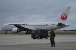 南国の防人さんが、那覇空港で撮影した日本航空 767-346/ERの航空フォト(写真)