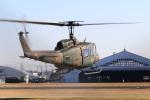 レガシィさんが、宇都宮飛行場で撮影した陸上自衛隊 UH-1Jの航空フォト(写真)
