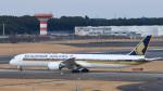 パンダさんが、成田国際空港で撮影したシンガポール航空 787-10の航空フォト(写真)