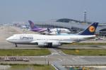 kuro2059さんが、関西国際空港で撮影したルフトハンザドイツ航空 747-430の航空フォト(写真)