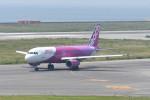 kuro2059さんが、関西国際空港で撮影したピーチ A320-214の航空フォト(飛行機 写真・画像)