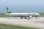 kuro2059さんが、関西国際空港で撮影したエバー航空 A321-211の航空フォト(写真)