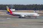 たーしょ@0525さんが、成田国際空港で撮影したアシアナ航空 777-28E/ERの航空フォト(写真)