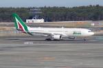たーしょ@0525さんが、成田国際空港で撮影したアリタリア航空 A330-202の航空フォト(写真)