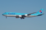 たーしょ@0525さんが、成田国際空港で撮影した大韓航空 747-8B5の航空フォト(写真)