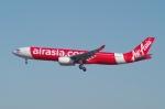 たーしょ@0525さんが、成田国際空港で撮影したタイ・エアアジア・エックス A330-343Xの航空フォト(写真)