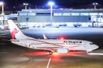 SGR RT 改さんが、成田国際空港で撮影したニューギニア航空 737-7L9の航空フォト(写真)