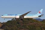 あしゅーさんが、福岡空港で撮影した大韓航空 787-9の航空フォト(飛行機 写真・画像)