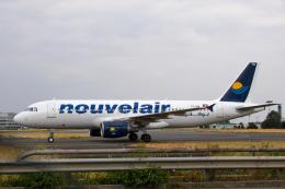 xingyeさんが、パリ シャルル・ド・ゴール国際空港で撮影したヌーべルエア・チュニジア A320-214の航空フォト(飛行機 写真・画像)