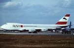 tassさんが、成田国際空港で撮影した日本ユニバーサル航空 747-221F/SCDの航空フォト(飛行機 写真・画像)