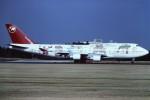 tassさんが、成田国際空港で撮影したノースウエスト航空 747-451の航空フォト(写真)
