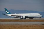 ちゃぽんさんが、関西国際空港で撮影したキャセイパシフィック航空 A350-941XWBの航空フォト(写真)