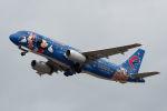 COLT VerRさんが、岡山空港で撮影した中国東方航空 A320-232の航空フォト(写真)