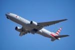 ちゃぽんさんが、成田国際空港で撮影したアメリカン航空 777-223/ERの航空フォト(飛行機 写真・画像)