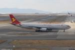 RAOUさんが、関西国際空港で撮影した天津航空 A330-343Xの航空フォト(写真)