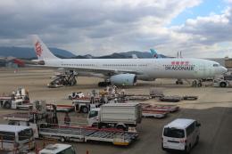 シフォンさんが、福岡空港で撮影したキャセイドラゴン A330-343Xの航空フォト(写真)